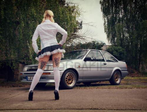 Toyota Corolla AE86 & Conny CRX aka Lady van Blonde – Mai 2017