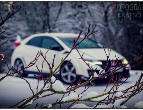 Honda Civic TypeR FK am Nürburgring im Schnee – Dezember 2017